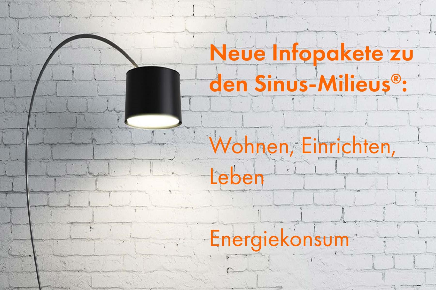 """Aktualisierte Infopakete """"Wohnen, Einrichten, Leben"""" und """"Energiekonsum"""""""
