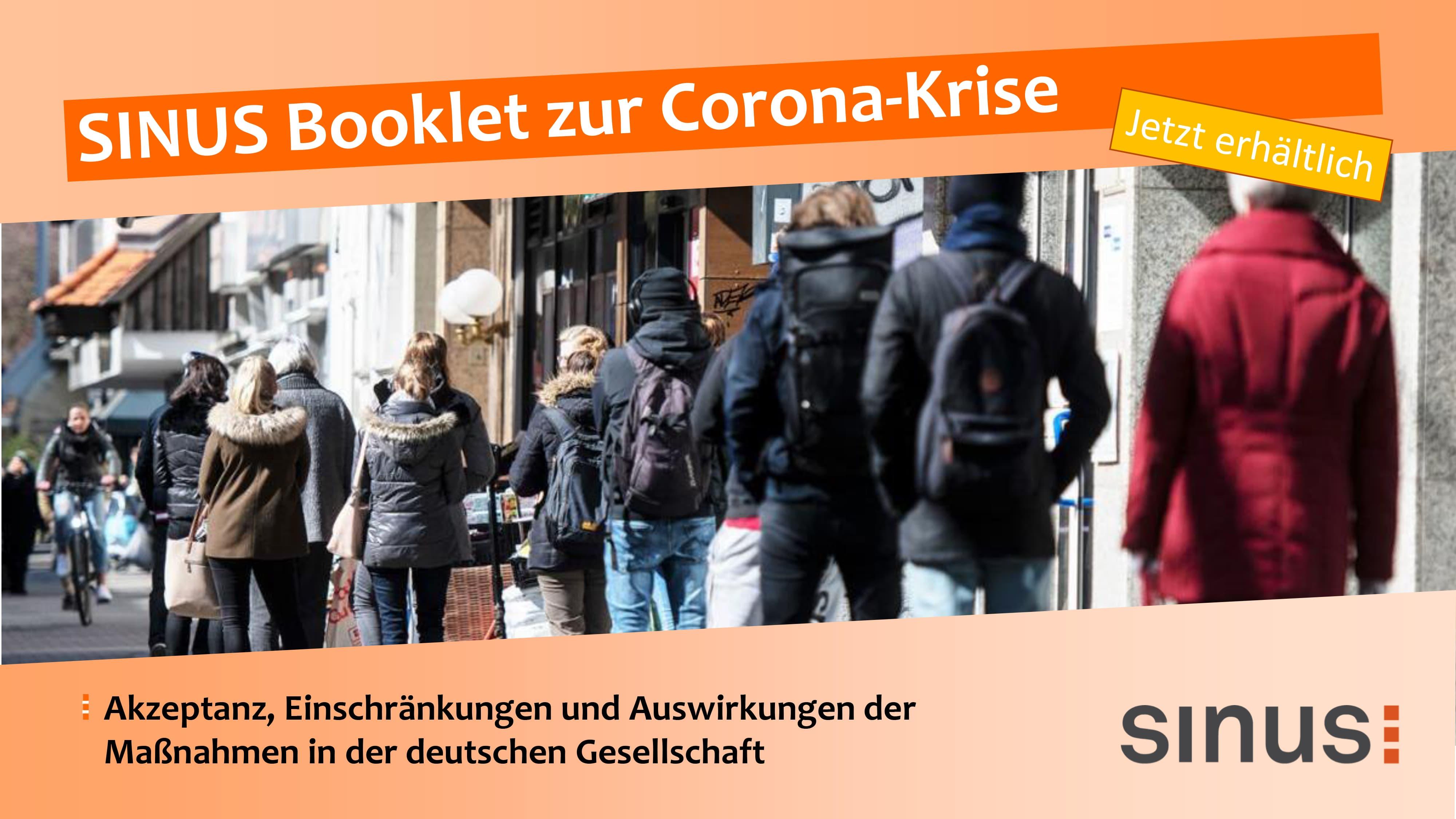 Neues SINUS-Booklet zur Corona-Krise