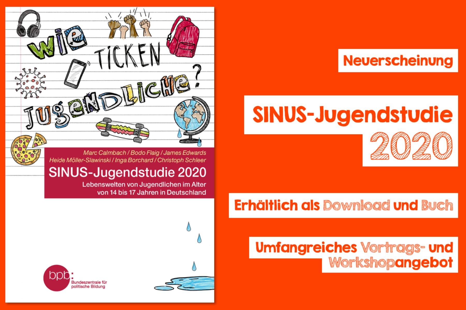 SINUS-Jugendstudie 2020: Wie ticken Jugendliche?