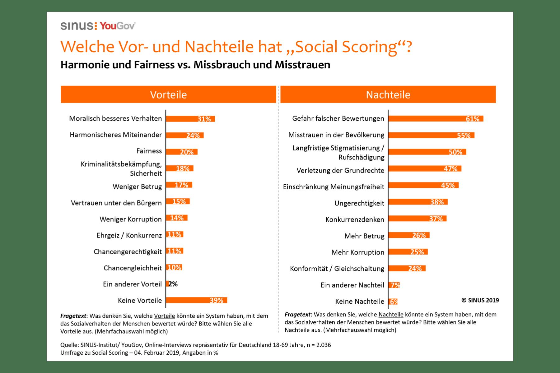 Grafik – Social Scoring